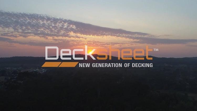 Decksheet Timber Decking – The New Generation of Timber Decking