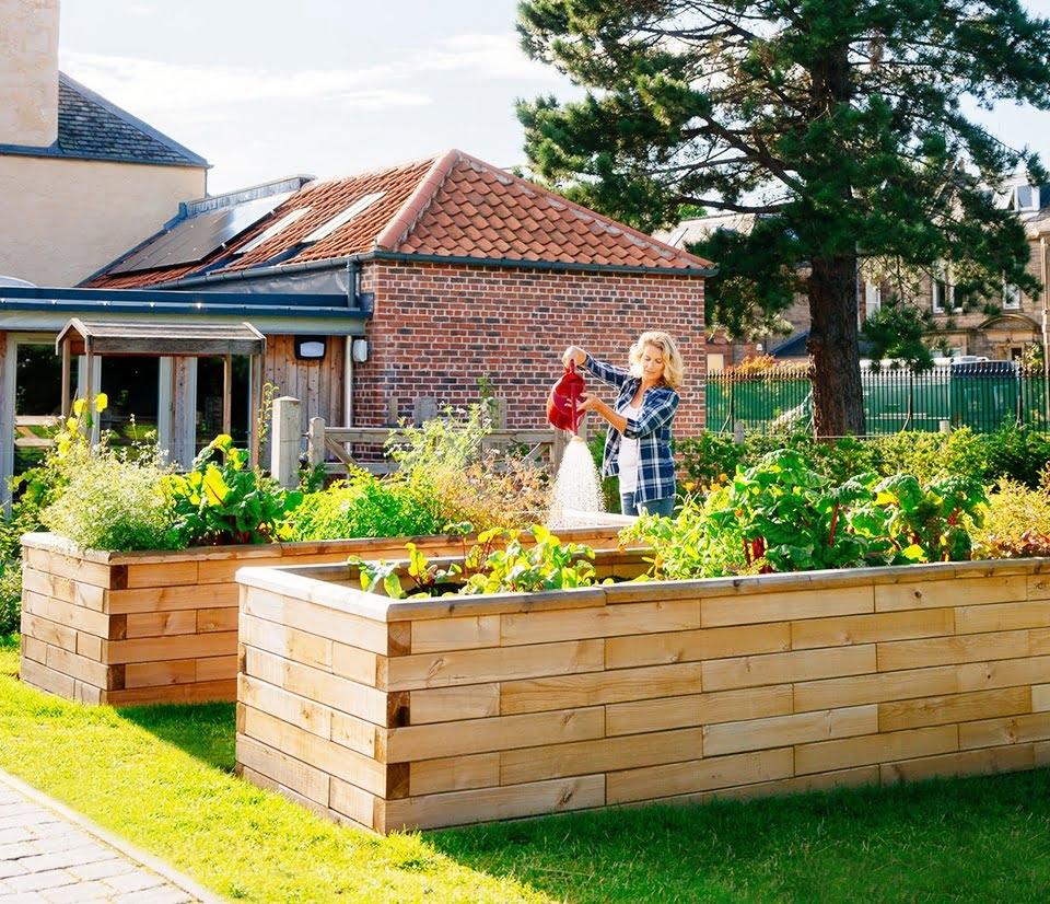 5 Creative Timber Retaining Wall Ideas