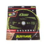 Austsaw Extreme Wood with Nails Blade 255mm x30 Bore x60 T Thin Kerf