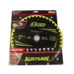 Austsaw Extreme Wood with Nails Blade 255mm x30 Bore x40 T Thin Kerf