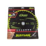Austsaw Extreme Wood with Nails Blade 235mm x25 Bore x40 T Thin Kerf