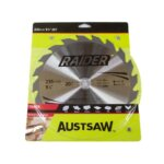 Austsaw Raider Timber Blade 235mm x25 Bore x20 T Thin Kerf