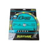 Austsaw – 235mm (9 1/4in) Polycrystalline Diamond Blade – 25/20mm Bore – 6PCD 6TCT Teeth