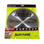 Austsaw Raider Timber Blade 255mm x30/25.4 Bore x80 T Thin Kerf