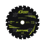 Austsaw Extreme Wood with Nails Blade 185mm x 20/16 Bore x24 T